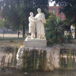 """Fountain in Piazza Vittoria park"" by easyfigure"