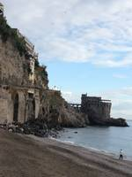 Amalfi coast Italy beach