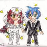 """Chibi Wedding2015"" by 4FootNinja"