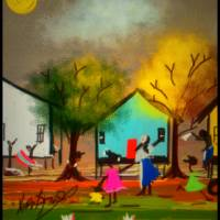 Down Bayou Lane With My Sister Art Prints & Posters by Nina Spencer