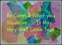 Be Careful What You Visualize