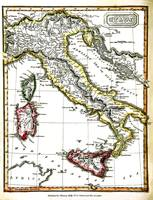Antique Map Of Italy From 1820