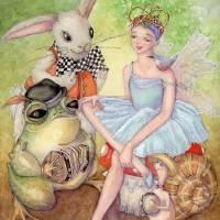 let's dance Art Prints & Posters by Laurel Nelson