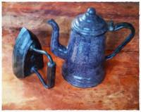Granite Kettle and Iron