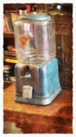 Antique Gumball Machine