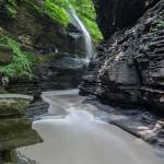 """Rainbow Falls at Watkins Glen"" by dbwalton"