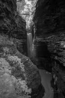 Watkins Glen in Infrared B&W