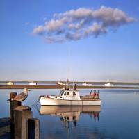 The Taint at Chatham Harbor Art Prints & Posters by Christopher Seufert