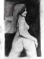 NUDE WOMAN PORTRAIT