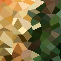 Bronze Yellow Abstract Low Polygon Background