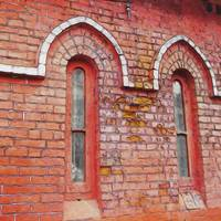 Windows of Chennai 2 - Brick Arches