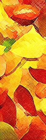 Autumn Leaves Abstract Series 001