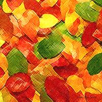 Autumn Leaves Abstract Series 004