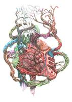 Nature Infused Human Heart