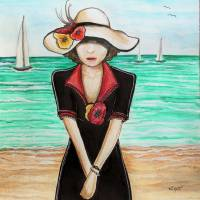 Waiting Art Prints & Posters by Elizabeth Robinette Tyndall