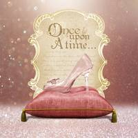 ONCE UPON A TIME PRINCESS GLASS SLIPPER