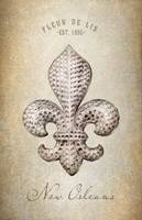 FLEUR DE LIS JEWELED BACKGROUND
