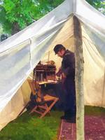 Civil War Officer's Tent