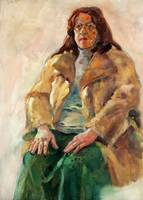 Woman with coat