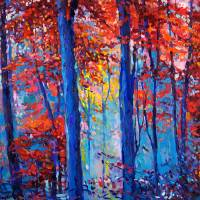 Autumn landscape Art Prints & Posters by Boyan Dimitrov