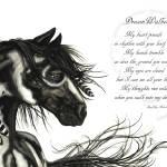 """""""DreamWalker Horse Poem"""" by AmyLynBihrle"""