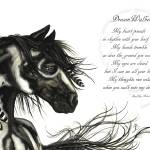 """DreamWalker Horse Poem"" by AmyLynBihrle"