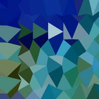 Blue Pigment Abstract Low Polygon Background