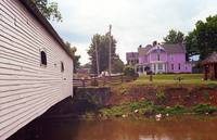 Elizabethton, TN, Covered Bridge and Mansion, 2008