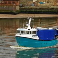 The Olivia Rose In Whitby Lower Harbour Art Prints & Posters by Rod Johnson