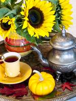 Autumn Tea Time