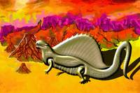 Dimetrodon of the Sphenacodontidae family