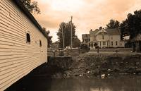 Elizabethton, TN, Covered Bridge and Mansion