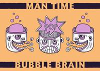 Man Time Bubble Brain