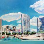 """Downtown San Diego Marina"" by BeaconArtWorksCorporation"