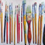 """Paint brushes - Tools of the Trade"" by BeaconArtWorksCorporation"
