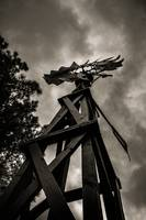 Wooden Windpump-2