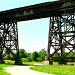 """Railroad Bridge Trestles (4)"" by LostMoon72"