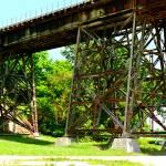 """Railroad Bridge Trestles (3)"" by LostMoon72"