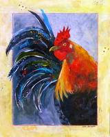 Calico Rooster