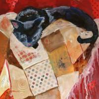 Catnap Art Prints & Posters by Lora Garcelon
