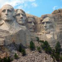 Mt. Rushmore in S. Dakota Art Prints & Posters by Jeannette La Tulippe
