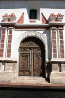 Carved Church Door in Cuenca