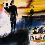 """""""Abstract the Wedding Party"""" by GinetteCallaway"""