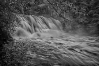 The Cascades in Black and White