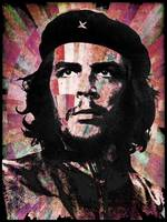 Che Guevara Revolution Red