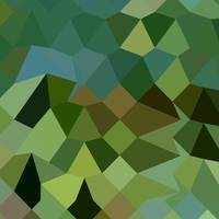 Dark Spring Green Abstract Low Polygon Background