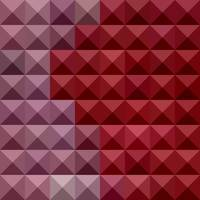Falu Red Abstract Low Polygon Background