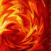 Dancing Flames Abstract Design