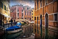 Canal in Venice on a Winter's Day