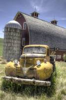 Old Pickup and Barn